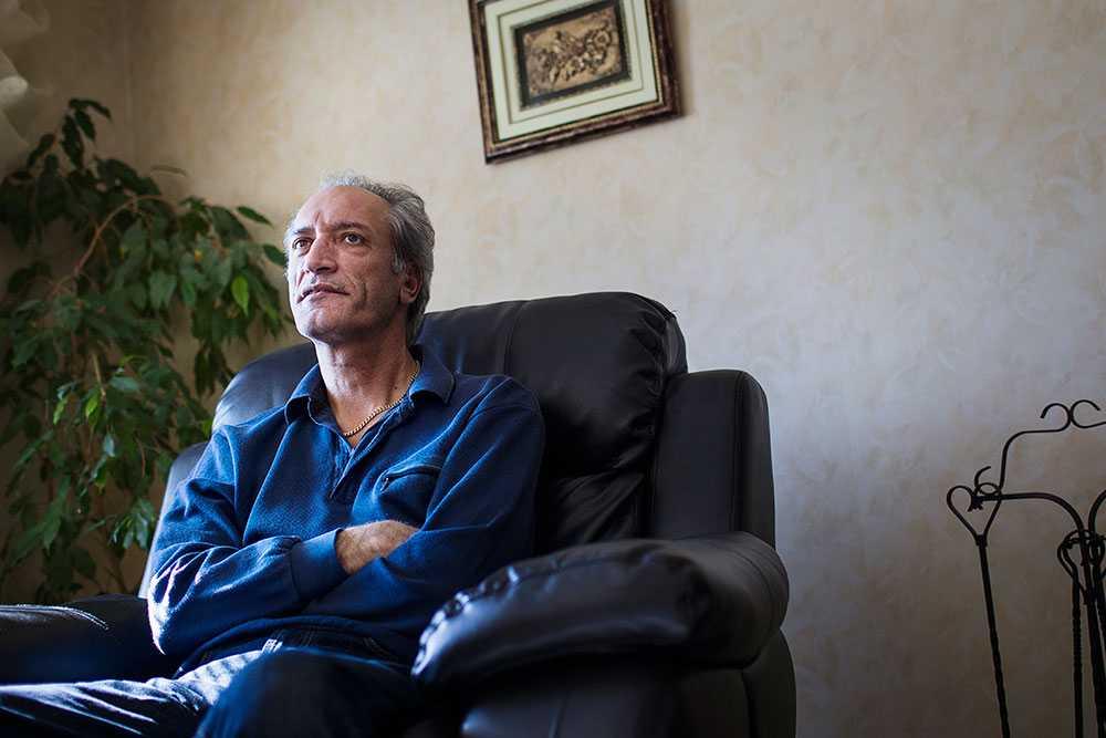 Abdull Hussein Athari, pappa till modellen Farzan, 29, som dömdes till livstid i Dubai.