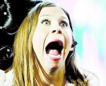 En chockad Caroline af Ugglas förstår att hon är klar för final.