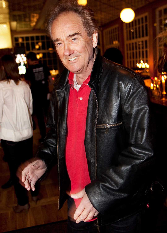 En glad Robert Broberg på Rockbjörnen 2009.