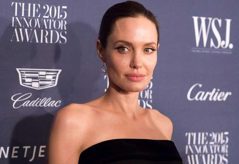 Angelina Jolie talar nu ut om skilsmässan med Brad Pitt.