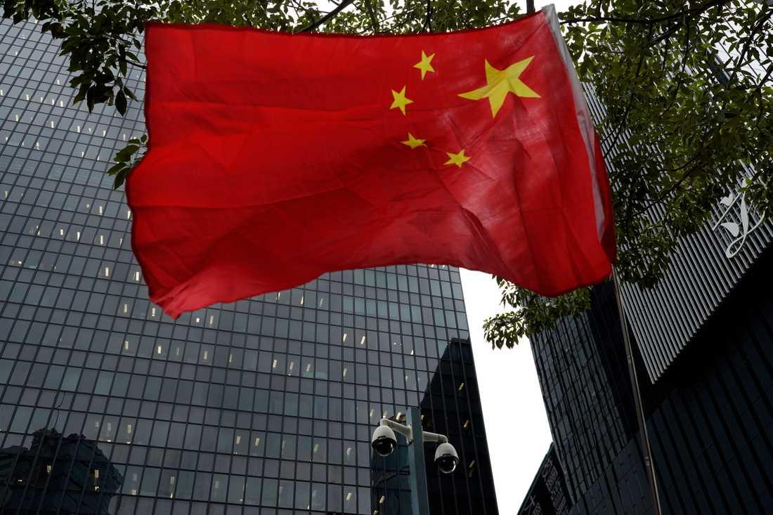 Den amerikanska regeringen har beslutat att fem statliga kinesiska medier i fortsättningen ska tvingas redogöra för vilka anställda och egendomar de har i USA, precis som olika ambassader måste. Arkivbild.