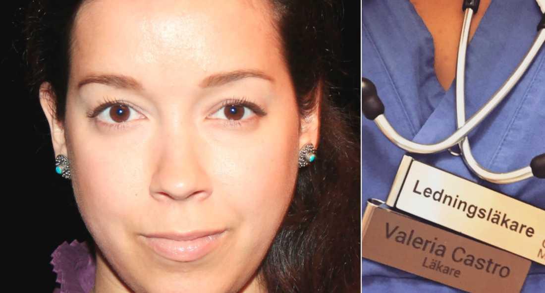 Nu berättar läkaren Valeria om krisläget på akuten.