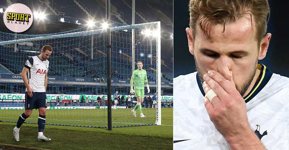 Kane ut skadad – när Tottenham tappade nya poäng