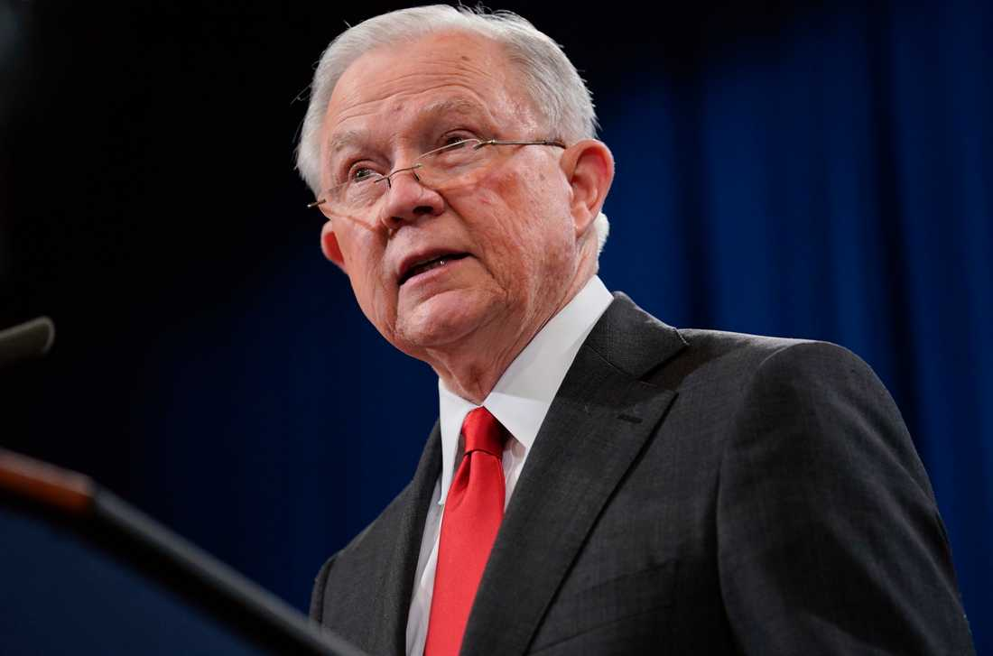 USA:s tidigare justitieminister Jeff Sessions.