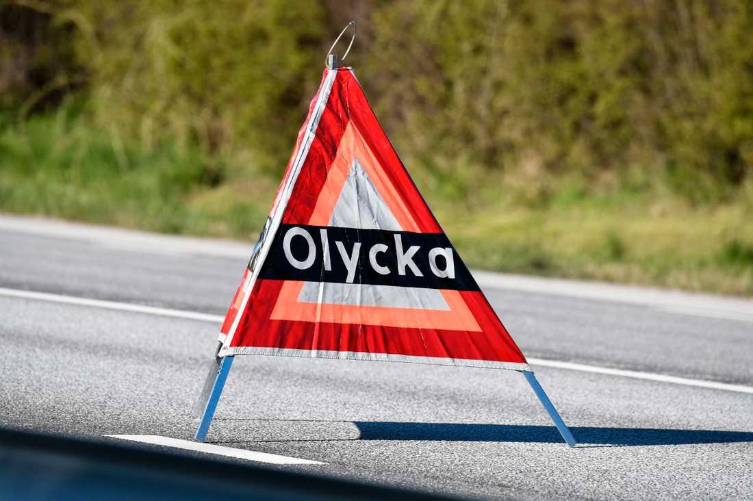 Räddningspersonal attackerades på en olycksplats i Filipstad. Arkivbild.