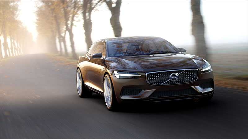 Volvos konceptbil  Concept Estate hintar mycket om utseendet på den nya kombin.