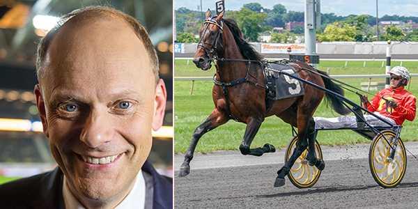 Lasse Granqvist och delägda supertalangen Greenshoe.