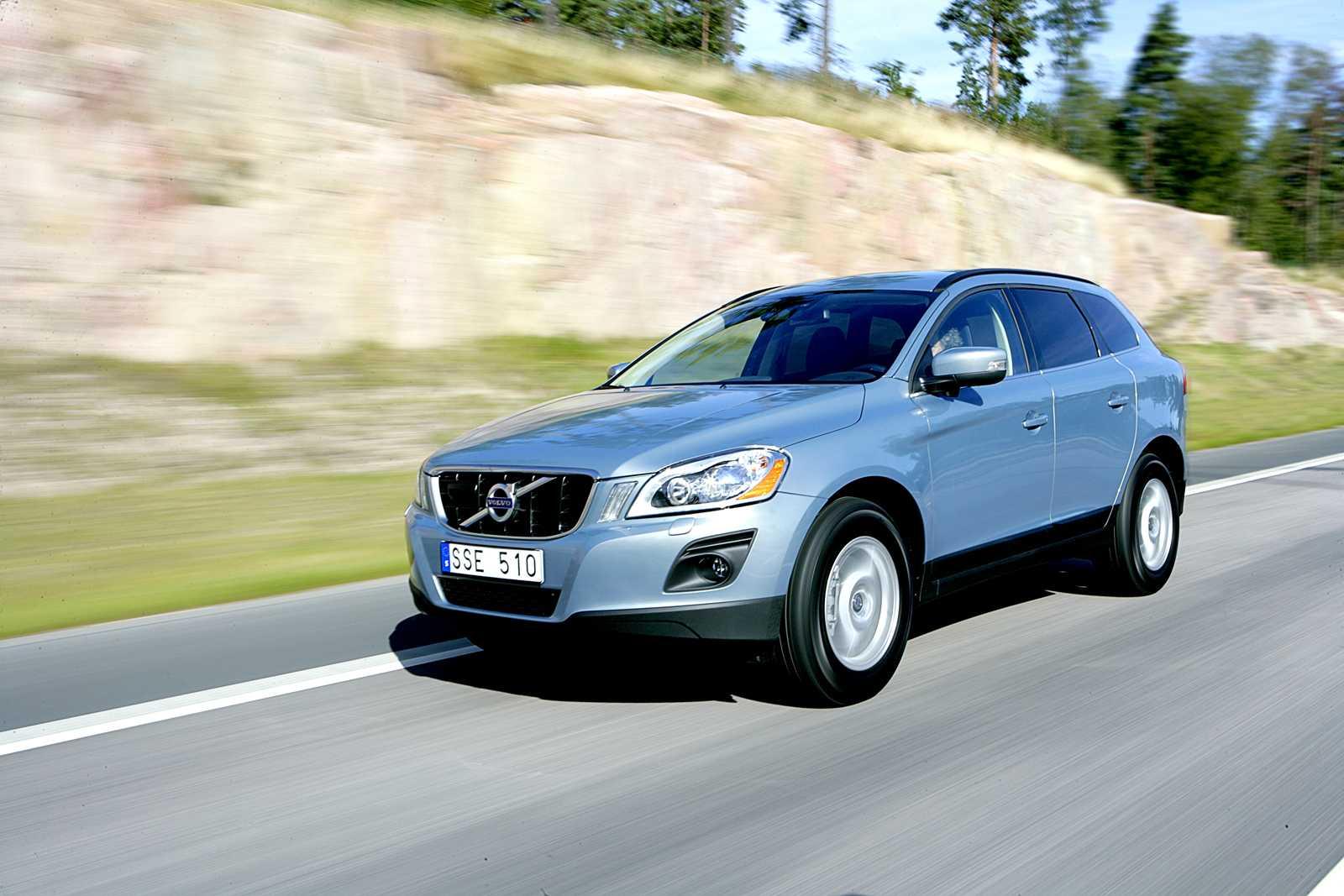 Volvo XC60, ligger bäst till av bilar med moderna säkerhetssystem enligt en ny undersökning. Foto: PER BJÖRN