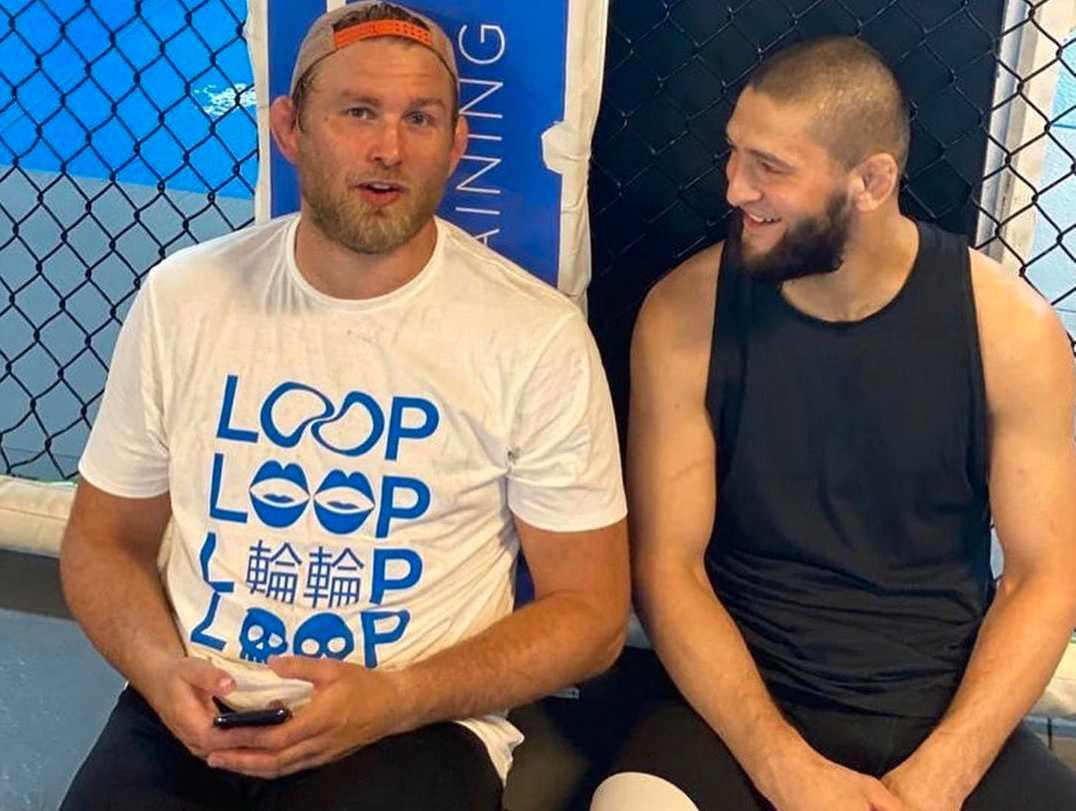 """Alexander """"The Mauler"""" Gustafsson och Khamzat """"Borz"""" Chimaev tränar på samma gym."""