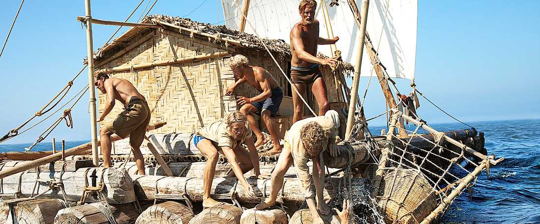 """Balsa för själen  """"Kon-Tiki"""" har hottat upp den verkliga historien om Thor Heyerdahls expedition."""