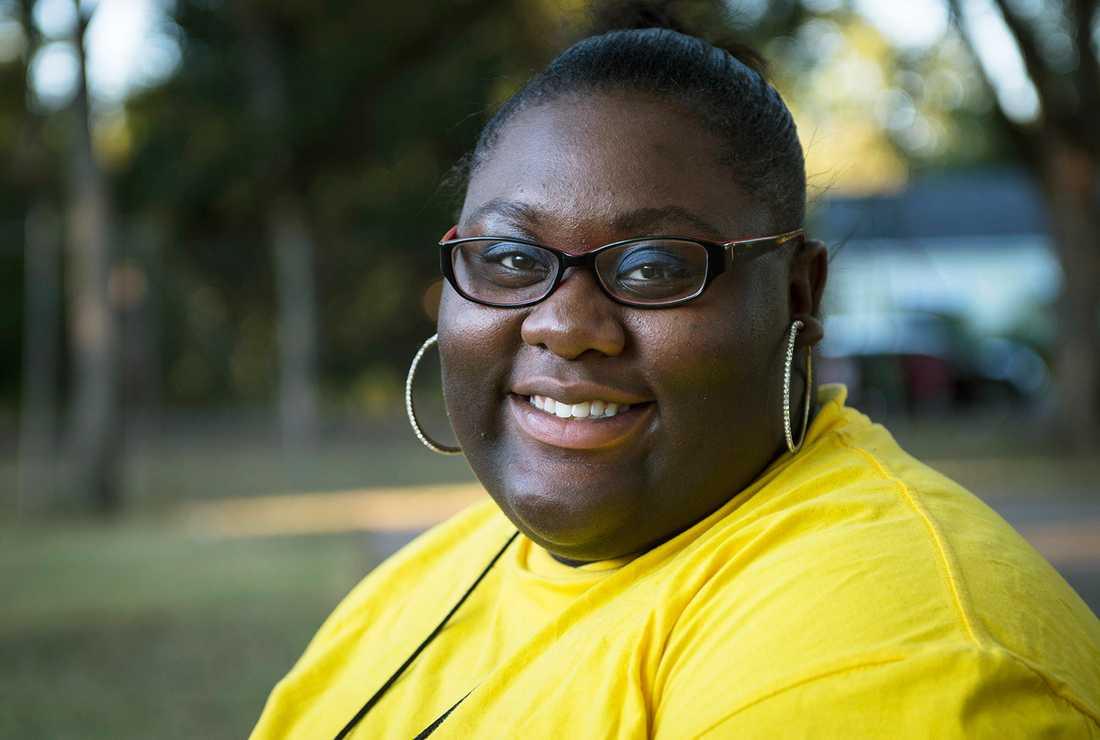 Kimberly Morgan, 19, säger att hon alltid kämpat med vikten. Förr åt hon alldeles för mycket. Nu vet hon att hon ska hålla igen, och träna.