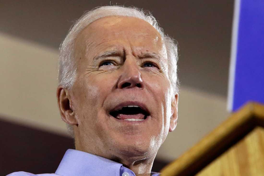 Tidigare vicepresident Joe Biden. Presidentvalet i USA avgörs den 3:e november 2020.