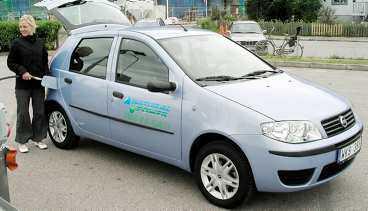 BÄST I TEST På första plats i årets rankning kommer Fiat Punto Bi-Power. Bilen kan köras på biogas, naturgas och vanlig bensin - något som gäller alla bilar som drivs med gas.