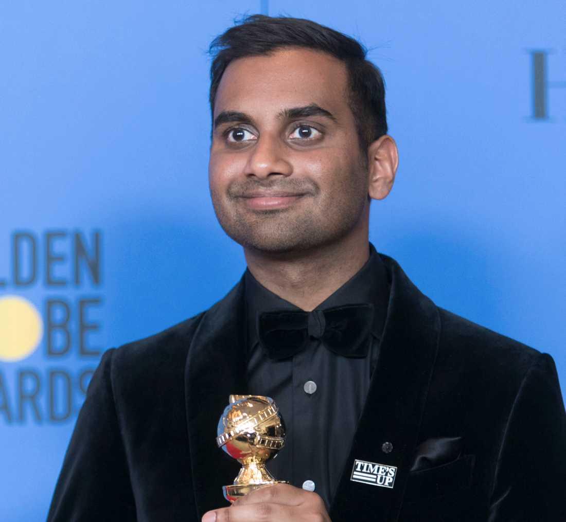 Aziz Ansari vann en Golden Globe för bästa skådespelare i en musikal- eller komediserie.