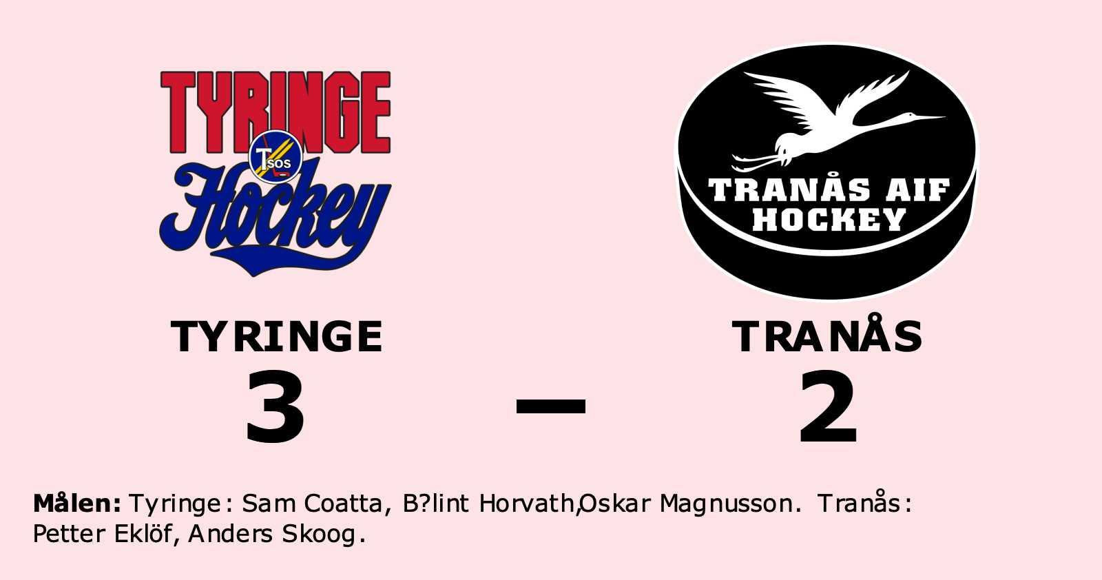Tyringe vann hemma mot Tranås