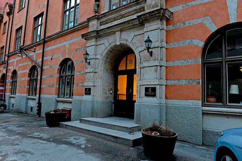 Anorexiakliniken Modellagenturer ska ha stått här, utanför en anorexiaklinik i Stockholm och raggat modeller. Men uppgifterna ifrågasätts av personer i branschen.