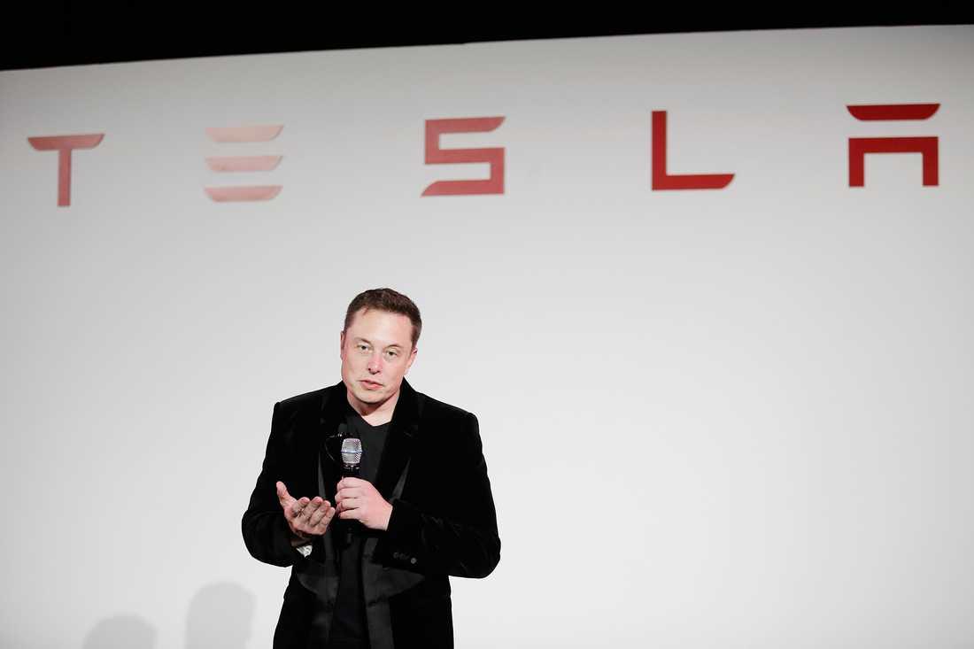 Tesla-chefen Elon Musk.
