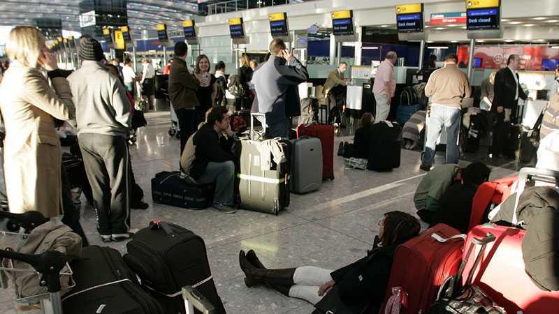 Heathrow-flygplatsen i London.