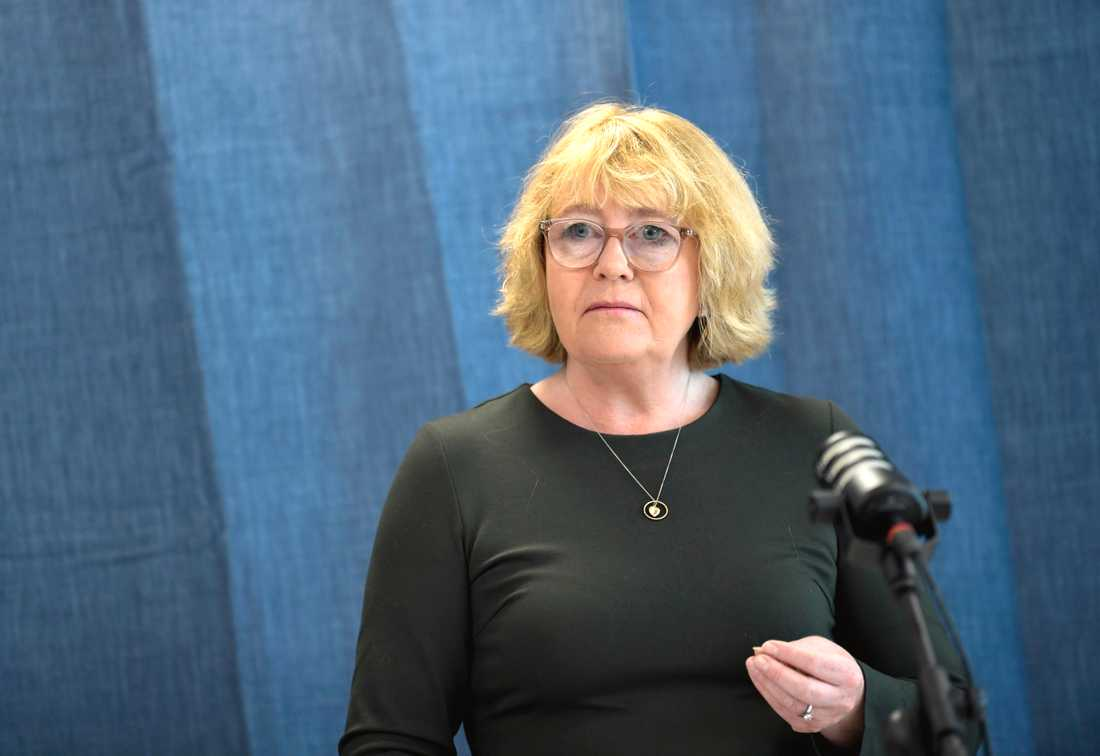Irene Svenonius (M), finansregionråd i Region Stockholm, vill att Region Stockholm får en paus i utjämningssystemet. Arkivbild.
