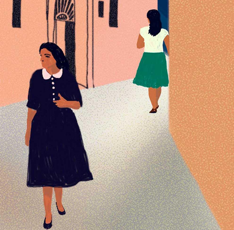 I tredje delen av pseudonymen Elena Ferrantes romansvit är det radikalt 60-tal och feminismen slår in dörren i huvudpersonen Elenas medvetande. (Bilden är beskuren.)