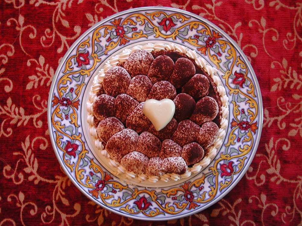 Tiramisù är en av desserterna på menyn.