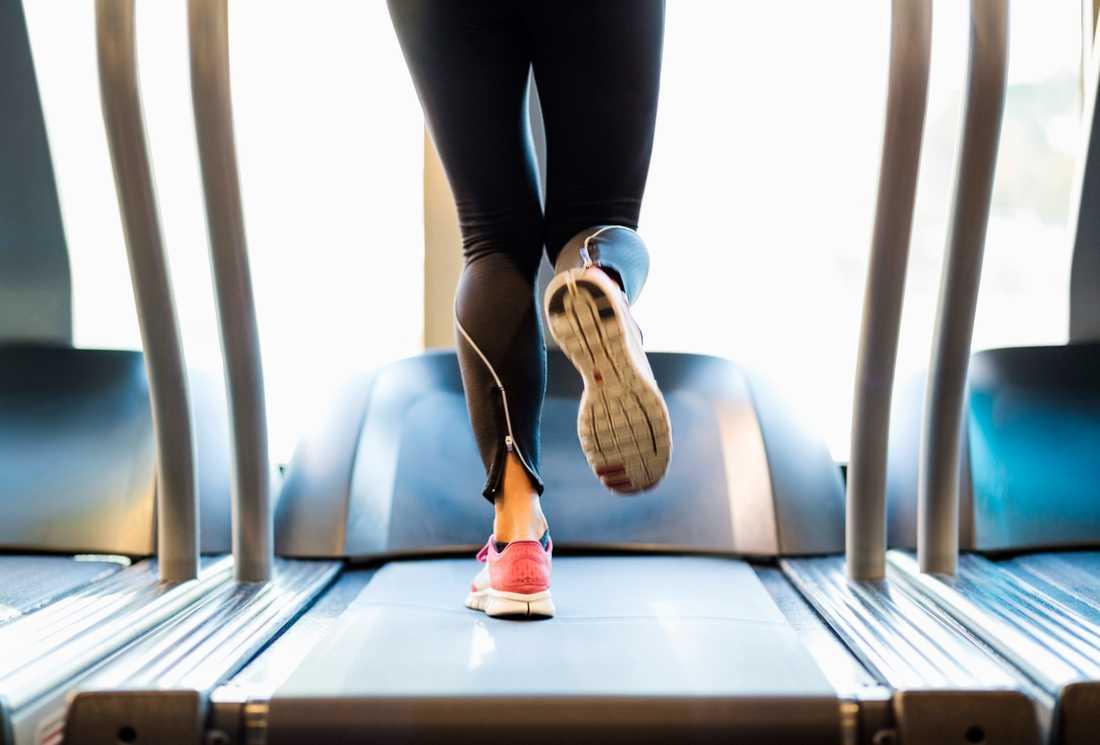 Många kvinnor känner att de inte får inte vara ifred när de tränar.