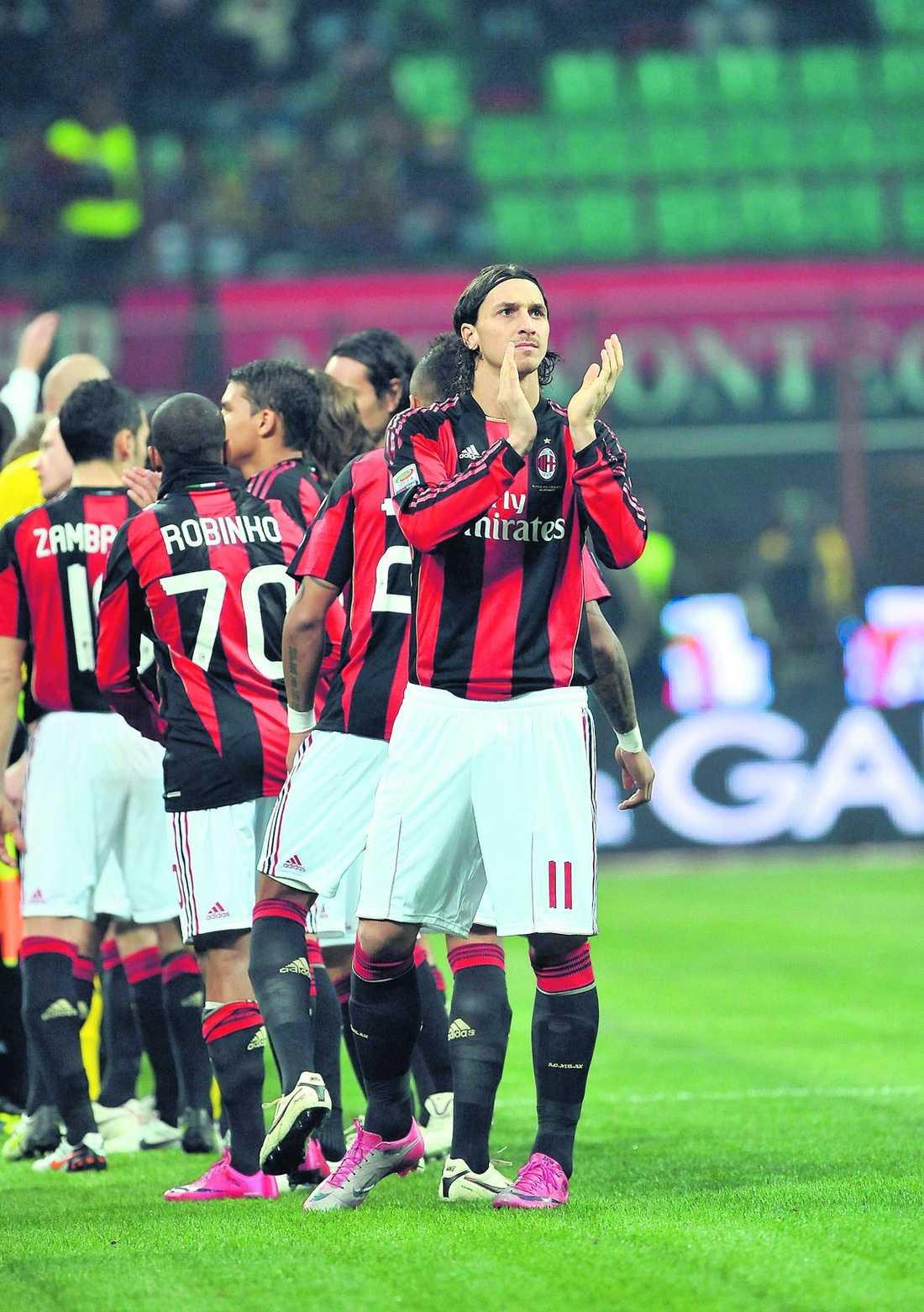 målsugen Zlatan Ibrahimovic gjorde ett av målen i helgens 3–0-seger mot Brescia. I dag siktar han på nya mål i den betydelselösa CL-matchen mot Ajax.