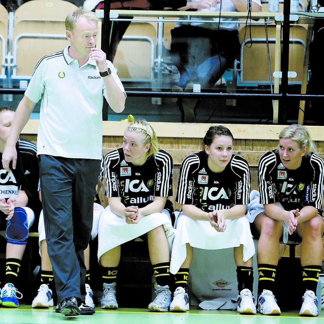 Magnus Johansson, tränare i Sävehof och assisterande förbundskapten.