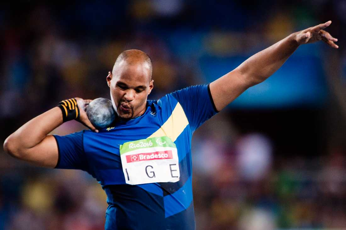 Jeffery Ige tävlade för Sverige i Rio 2016.