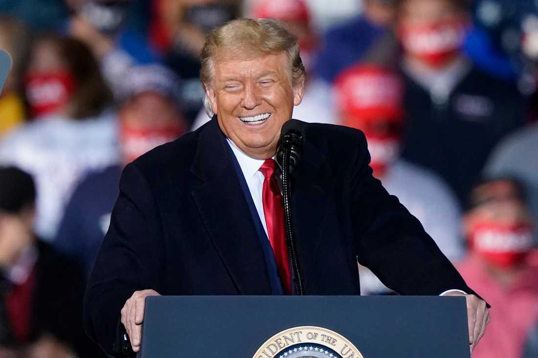 USA:s president Donald Trump. Arkivbild.