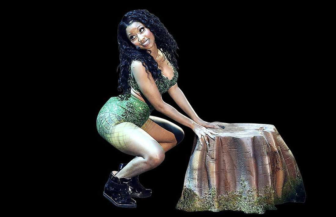 Nicki Minaj på MTV Video Music Awards.