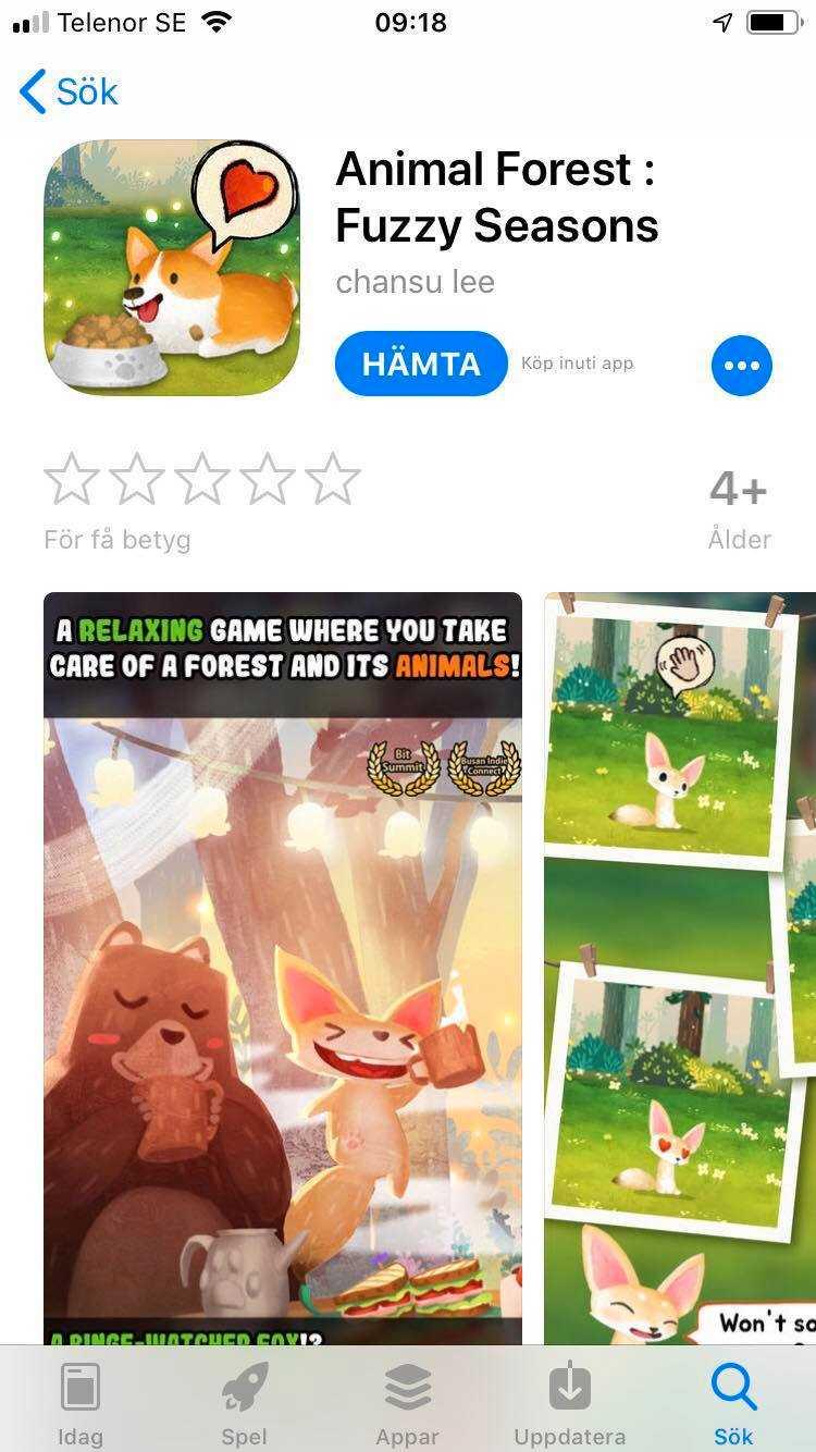 """""""App Store, Google Play30-999 kr per objekt.Från 4 år.För riktiga pengar kan spelare exempelvis köpa extra """"seeds"""" för att förbättra spelupplevelsen och snabbare avancera. Att köpa 2 100 seeds kostar 349 kr"""", skriver Sveriges konsumenter i sin rapport."""