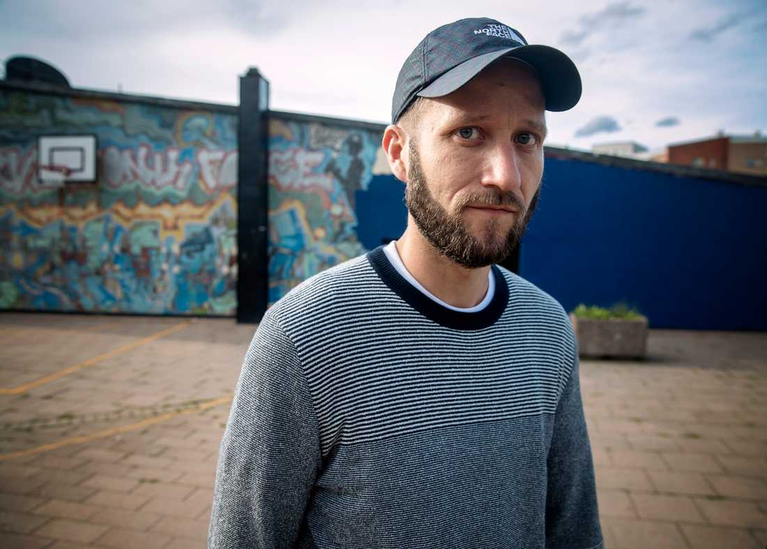 """""""Det är en kulturell katastrof"""", säger Mikael Rickman boende i Rågsved."""