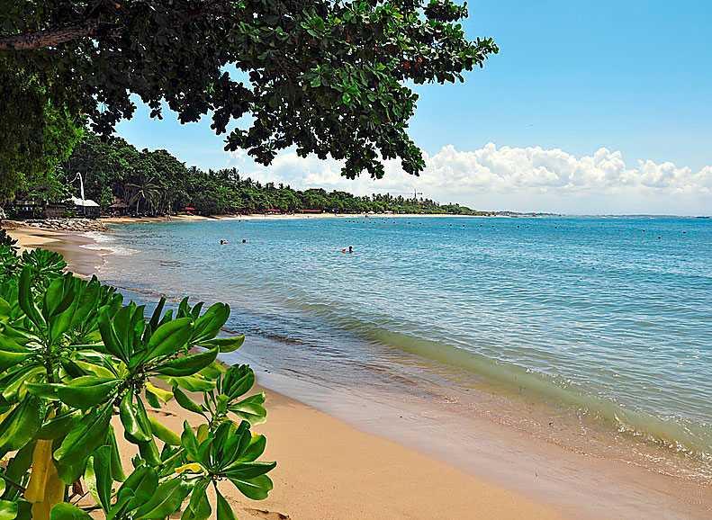 Spännande Bali har en uppsjö stränder.