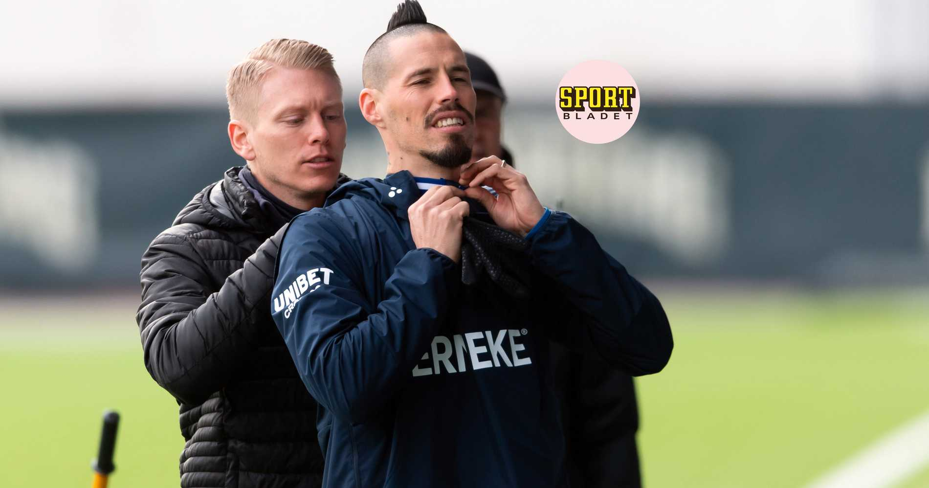 AVSLÖJAR: Hamsik på bänken för IFK Göteborg mot AIK