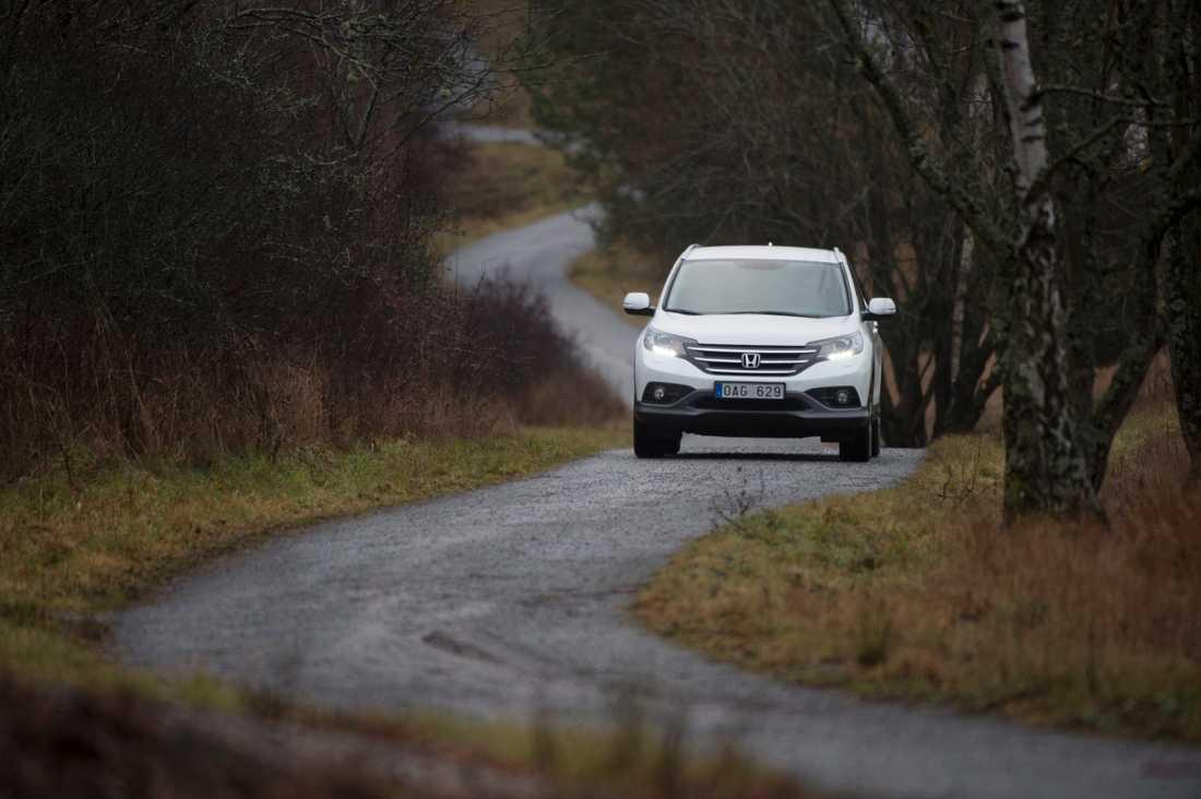Regeringen lägger mer pengar på små vägar på landsbygd. Arkivbild.