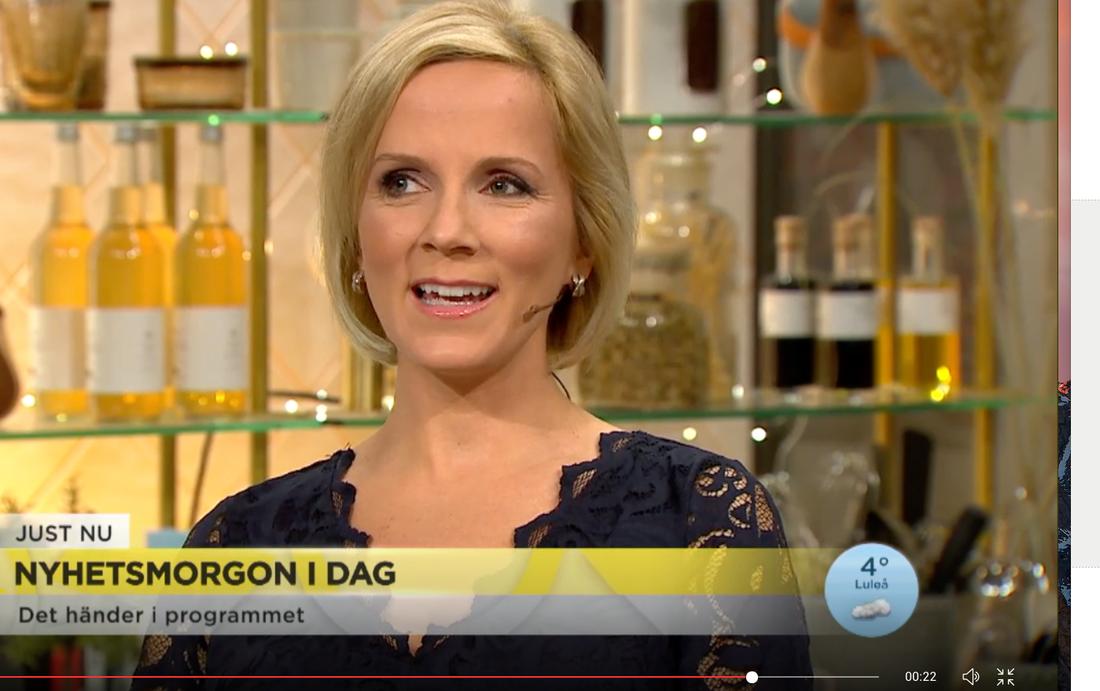 Meteorologen Ulrika Andersson.