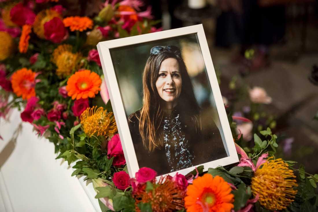 Sara Danius begravdes tidigare i år.