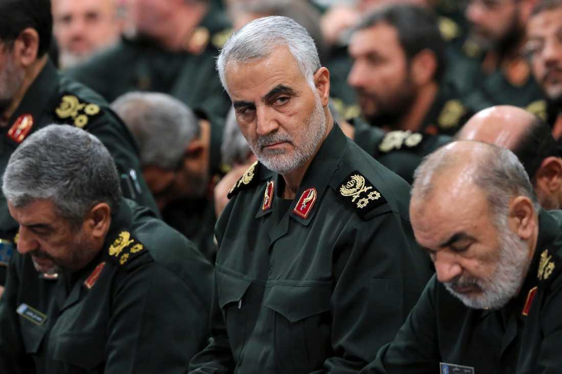 Soleimani anses ha varit den näst högste ledaren i Iran.
