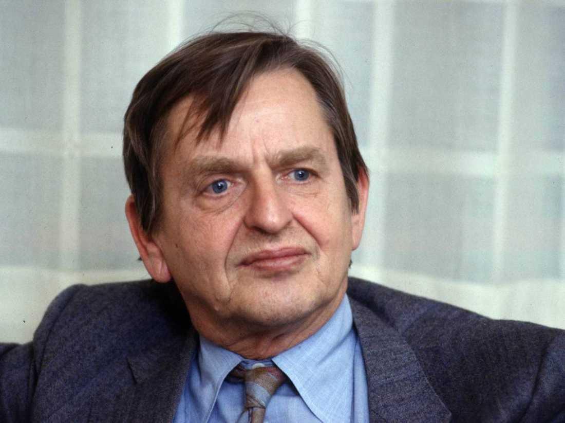 Olof Palme mördades 1986.