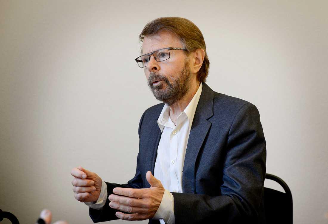 Björn Ulvaeus har slutat använda kontanter och på ABBA-museet kommer det inte vara möjligt att betala med cash.