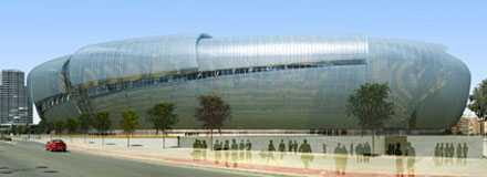 Nou Mestalla Valencias mäktiga bygge ska ta 75 000 åskådare.