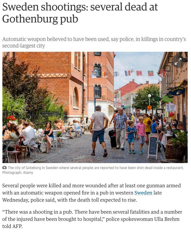 Skärmdump från brittiska The Guardian.