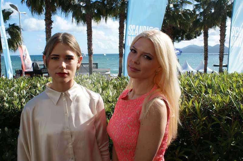 """Rör upp känslor Ninja Thybergs, 28, och Jenny Hutton, 26, är med och skapar reaktioner under Cannes-festivalen med sin kortfilm """"Pleasure"""". Den handlar om hardcore-porr."""