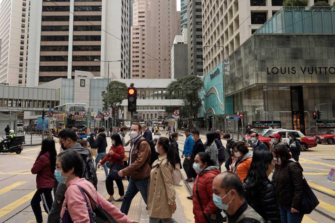 Flera stora kulturevenemang har ställs in i Hongkong, sedan coronaviruset började spridas. Arkivbild.