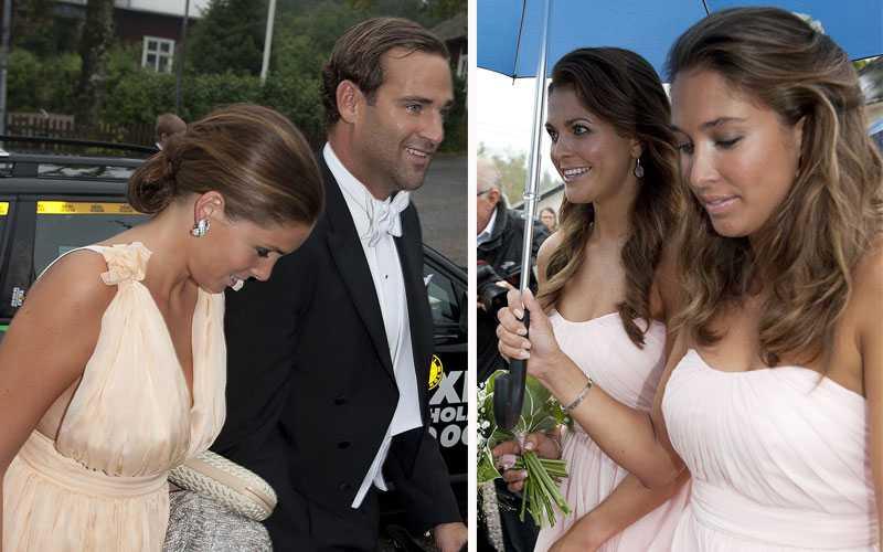 e20f7bf1ad2c BÅDA VAR BJUDNA Paret som sammanförde Jonas Bergström och prinsessan  Madeleine gifte sig i Gottröra kyrka
