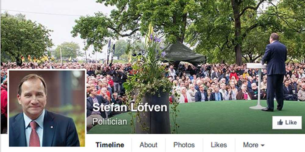 S-ledaren officiella Facebooksida.
