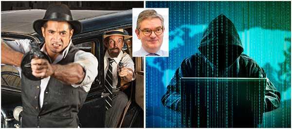 """Julian King, Storbritanniens EU-kommissionär och ansvarig för cybersäkerhet: """"Bankrånen nuförtiden har aldrig tidigare varit så odramatiska: skurkarna har anlitat nördar för it-världens motsvarighet till smash-and-grab-kupper""""."""