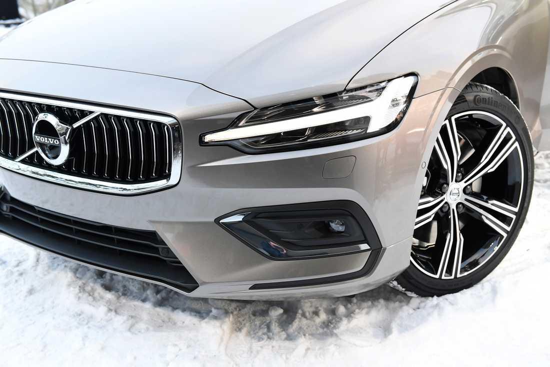 Volvo Cars presenterar sin nya kombi V60 i Täby norr om Stockholm i februari. Arkivbild.
