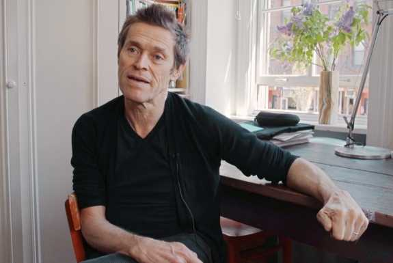 "Willem Dafoe i ""Why are we creative?"""